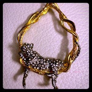 ALEXIS BITTAR Leopard Necklace